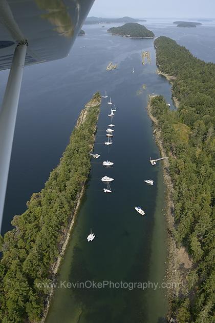 Wallace Island Marine Provincial Park, Gulf Islands, British Columbia, Canada.