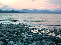 Quadra Island Sunset, British Columbia