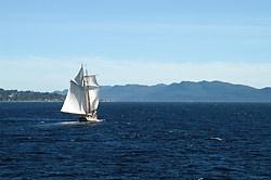 Sailing off Texada Island, Texada Island, British Columbia