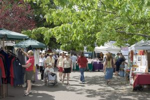 Salt Spring Island Saturday Market located in Ganges