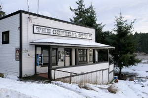 The old General Store at historic Port Washington. The Port Washington Store was established in 1910.