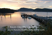 Gulf Islands paradise, the view from Miners Bay, Mayne Island