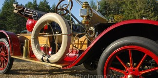 Vintage car at the Salt Spring Islands fall fair