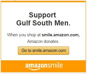 Gulf South Men Donation from Amazon