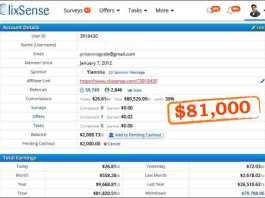 earn from clixsense,