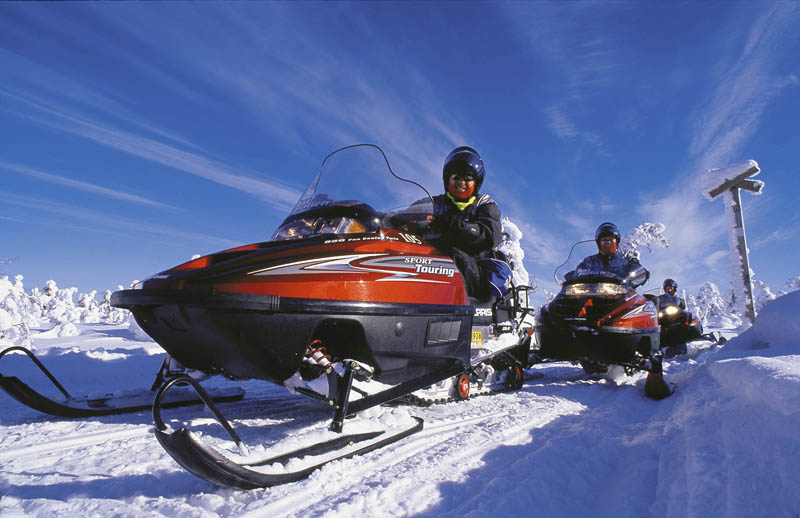 Lapland - Snowmobile