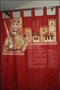 El Museo nos presenta a todos los personajes de la batalla en bellos tapices informativos