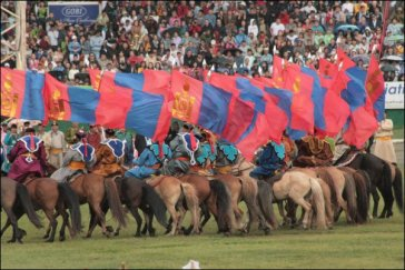 Una fiesta mongola tiene como protagonista al caballo