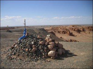 El Ovoo, lugar sagrado para los mongoles