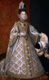 Alonso Sánchez Coello. La infanta Isabel Clara Eugenia y Magdalena Ruiz. Sala 56 del Museo del Prado