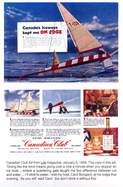 Ice Boat Advertisements