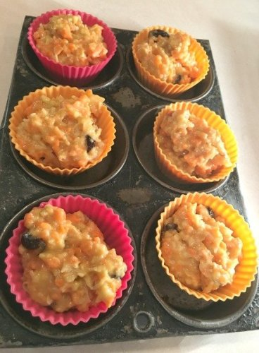 Best ever Gluten Free Carrot Muffins