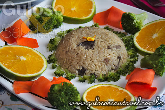 Receita de Arroz de Pato Light