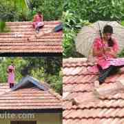 Viral Pic: Kerala Girl On Rooftop For Better Signal For Online Classes