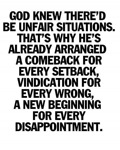 unfair quotes