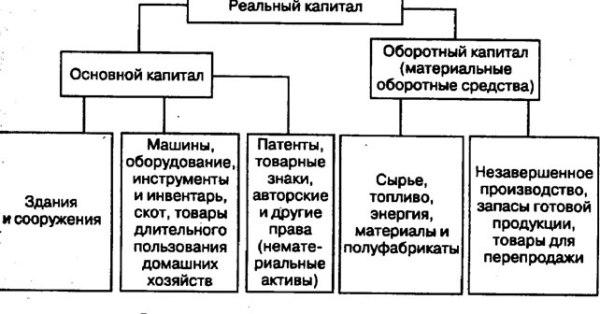 Понятие и теории капитала основной и оборотный капитал