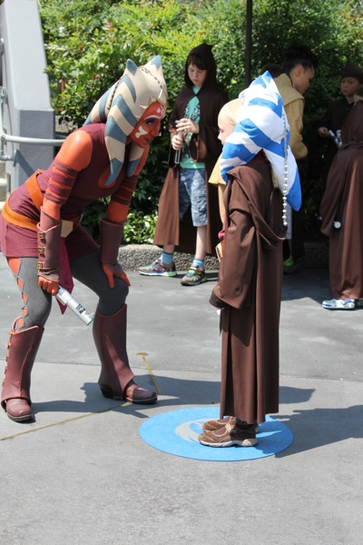 Lessons with Ahsoka