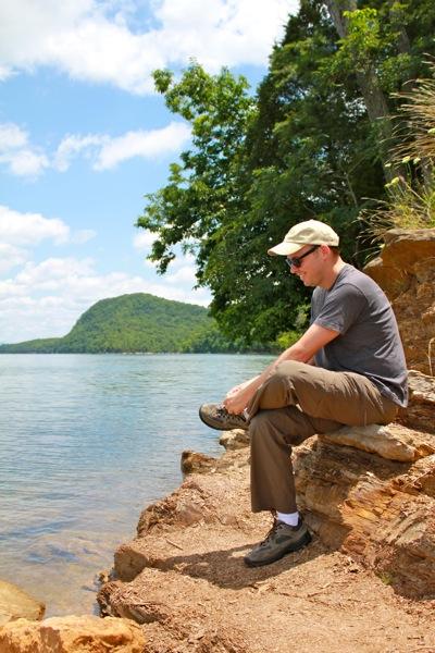 Lee at the Lake