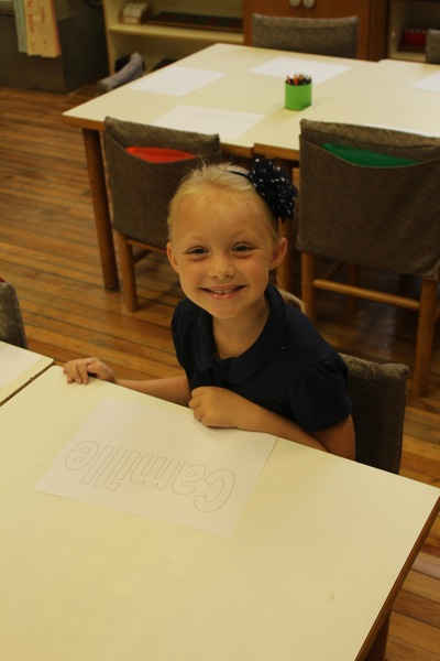 First Grade and Running the Show