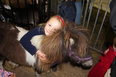 She NEEDS a mini pony