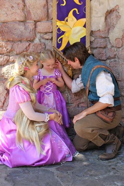 In Rapunzel's Garden