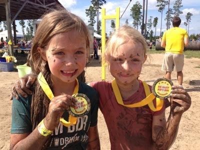 Muddy Medals