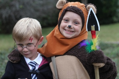 Ewok and Harry Potter