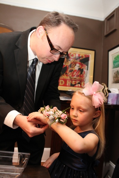 Corsage from Daddy