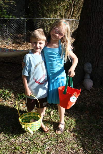 Egg Hunt at Boo's House