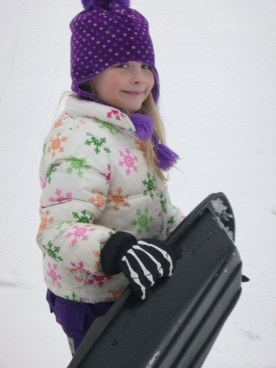 My Snow-Loving Girl