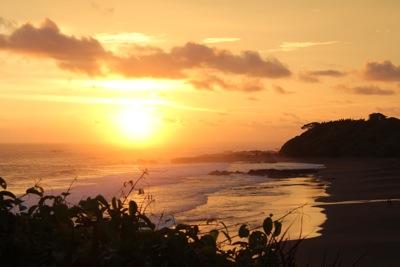 Playa Azul Sunset
