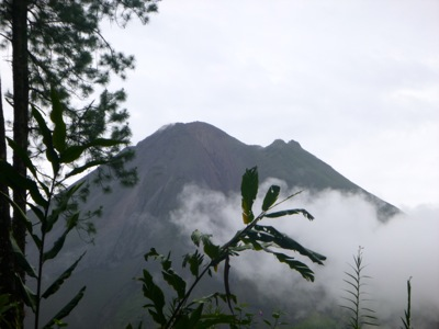 Arenal From the Hiking Trail
