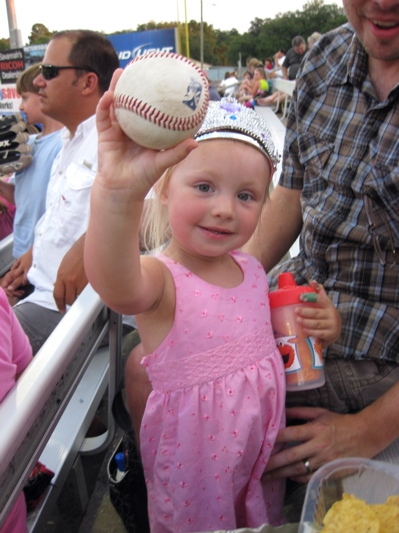 A game ball - yay!
