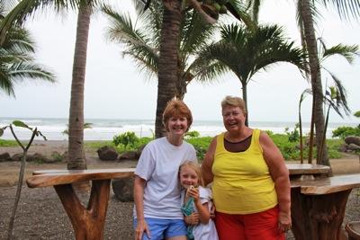 At the Tiki Hut