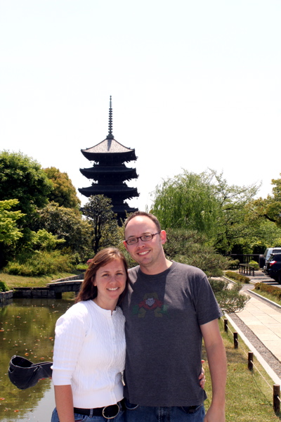 Lee & Ginger in Kyoto