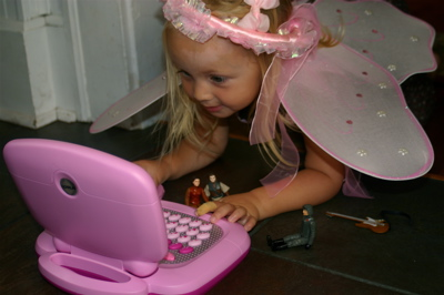 A Princess, Robot and a Computer