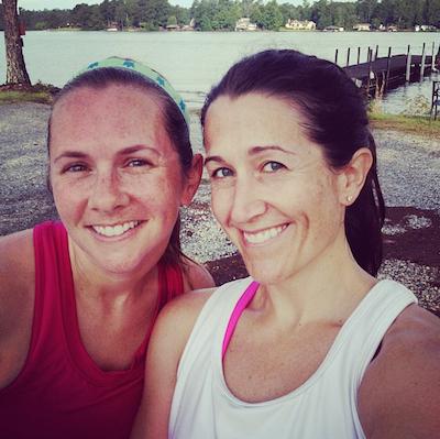 Lake Harding Run with Missy