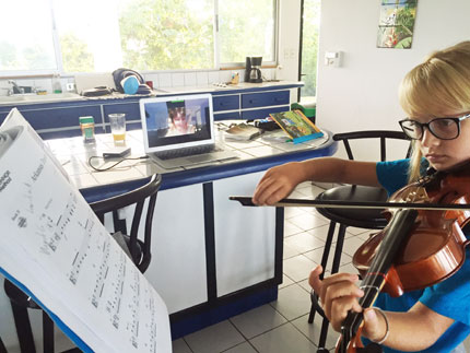Long Distance Viola Lesson