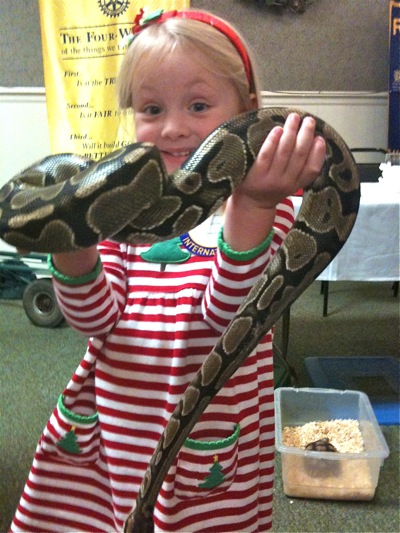 Camille Loves Snakes