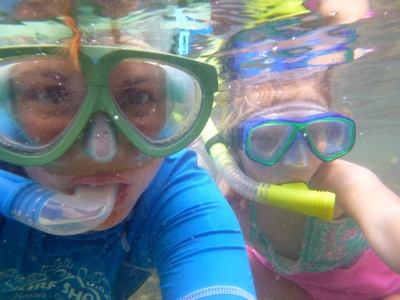 Snorkeling With My Best Girl
