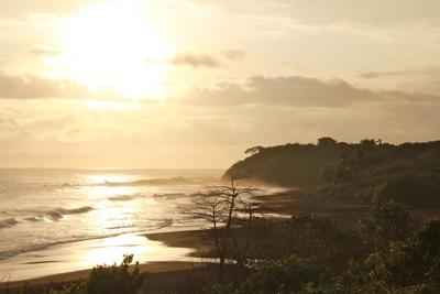 Sunset at Playa Azul