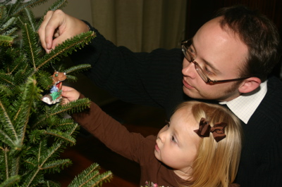 Decorating with Daddy