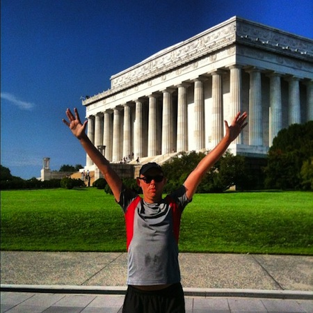 DC Run - The Lincoln Memorial