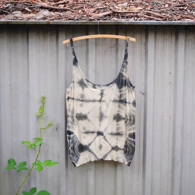 Shibori with Australian indigo