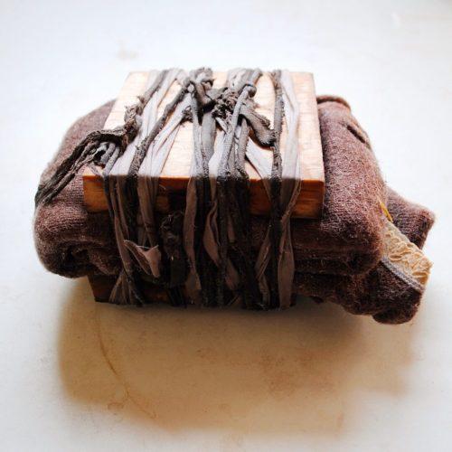 Wool eco-print bundle