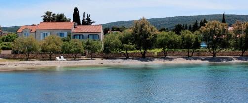 Beachfront Villa Mirca