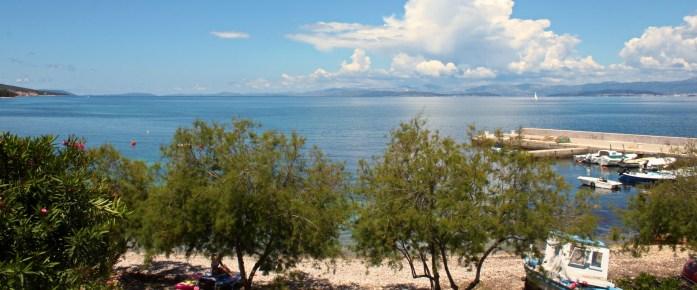 Sea view from Villa Mirca bedrooms