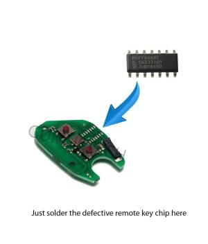 Opel Vivaro-Movano RemoteRepairBoard-opel-remote-repair-board-pcb-circuit-vivaro-movano-2button-pcf7946at-id46-oem-original-after-market-front