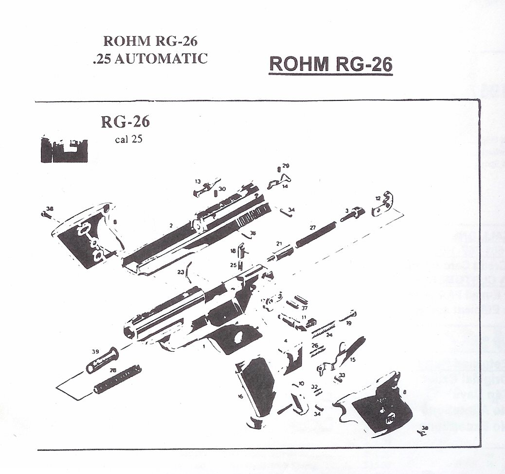 Search Results Rg Rohm Gun Parts