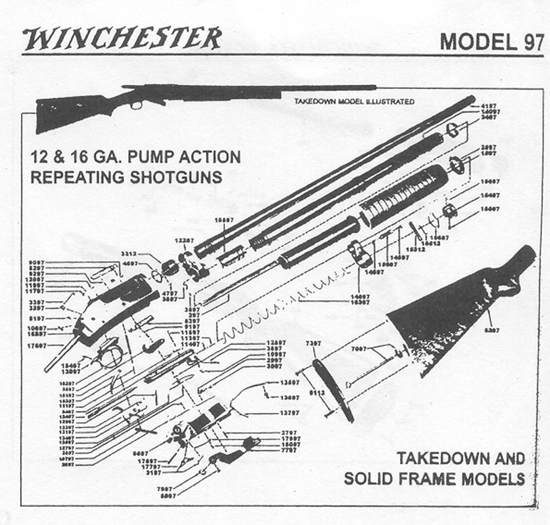 Winchester Defender 12 Gauge Schematic